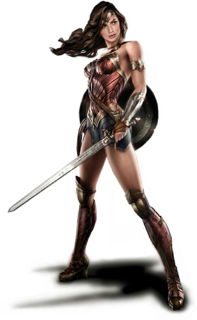 Woman Warrior PNG Image SVG Clip arts