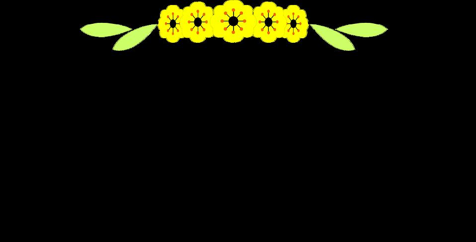 Yellow Border Frame PNG Image SVG Clip arts
