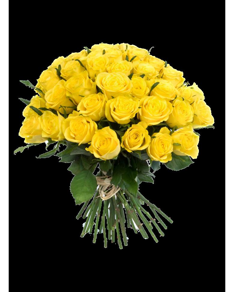 Yellow Flowers Bouquet Transparent PNG SVG Clip arts