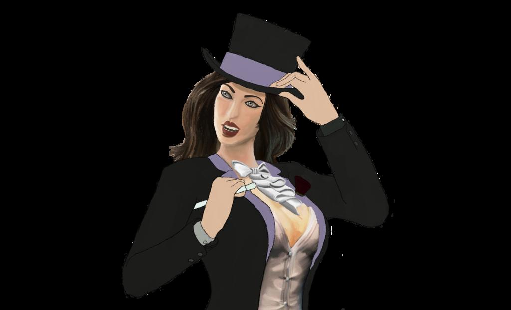 Zatanna PNG Pic SVG Clip arts