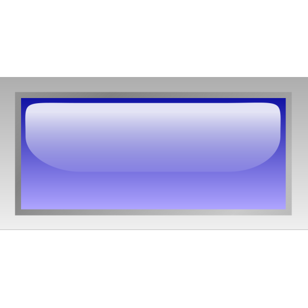 Led Rectangular H (blue) PNG Clip art