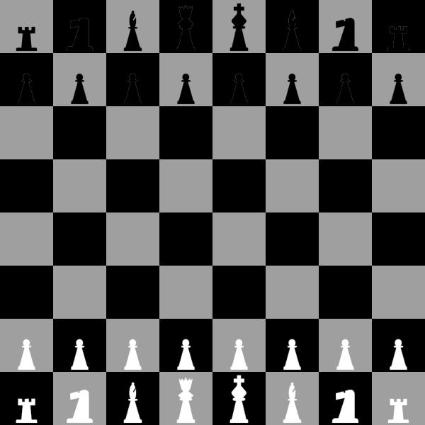 Chessboard PNG Clip art