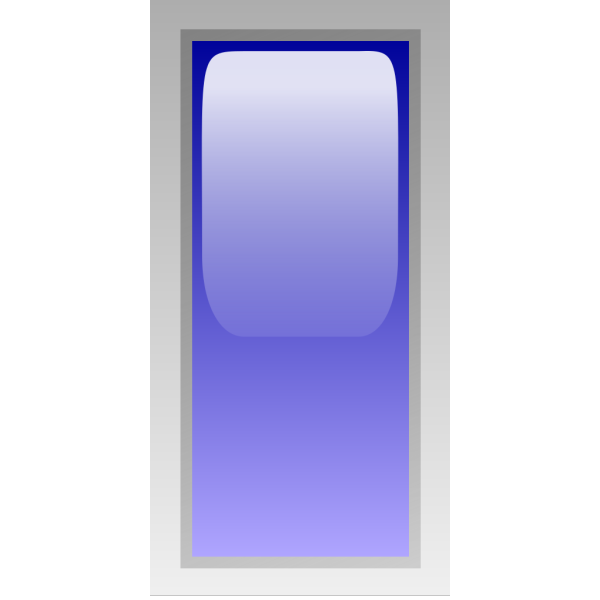 Led Rectangular V (blue) PNG images