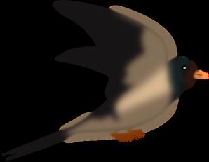 Digital Bird Art PNG Clip art