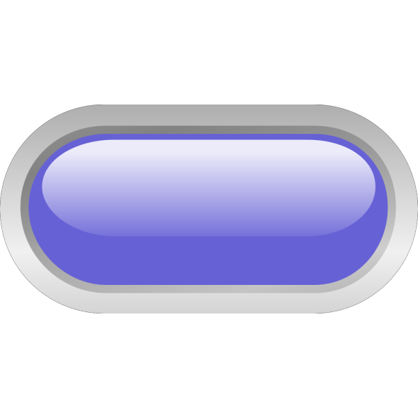 Led Rounded H (blue) PNG Clip art