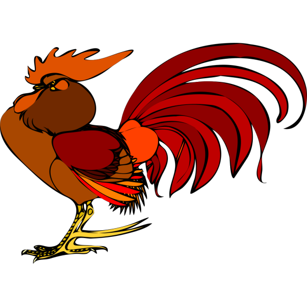 Proud Rooster PNG Clip art