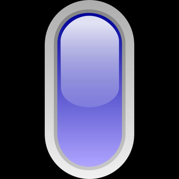 Led Rounded V (blue) PNG images