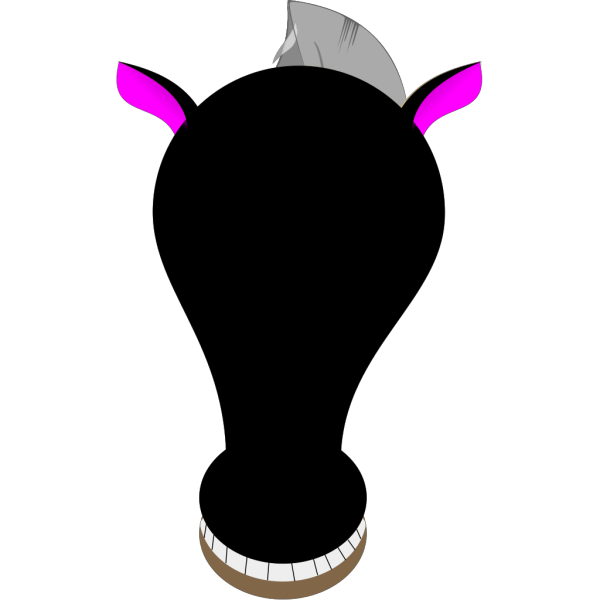 Comic Horse Face PNG images