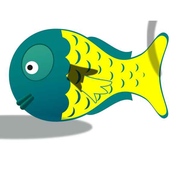 Cartoon Baby Fish PNG Clip art