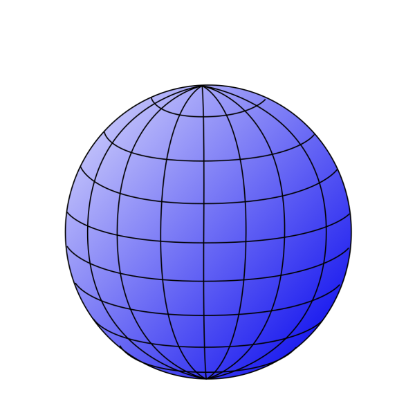 Big Blue Wire Globe PNG images