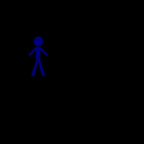 Stick Blue PNG Clip art
