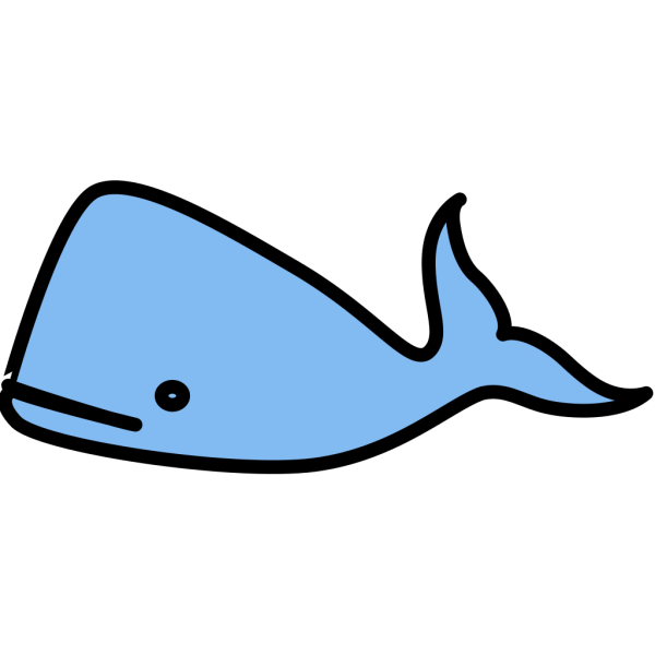 Bluewhale PNG Clip art