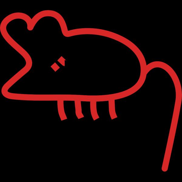 Graffiti Mouse PNG Clip art