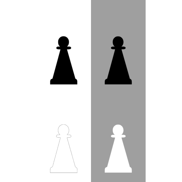 Pawn Chess Set PNG icons