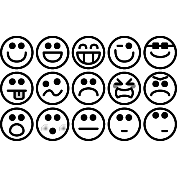 Outline Smiley Icons PNG Clip art