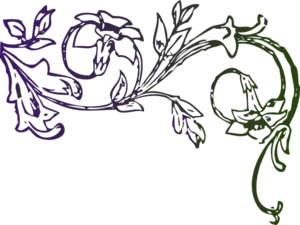 Floral Design With Birds PNG images