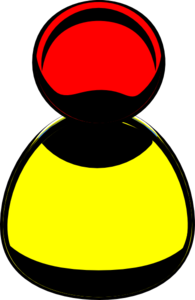Yellow Chick In Cracked Eggshell PNG Clip art