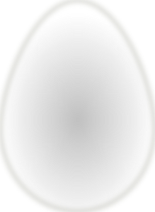 Easter Egg With Bird On Top PNG Clip art