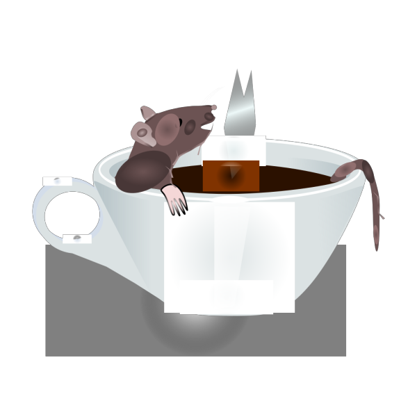 Rat In Coffee PNG images