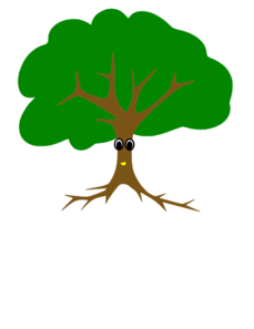 Standing On Tree Branch clipart