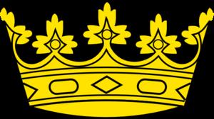 Deer With Crown PNG Clip art