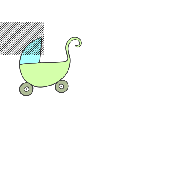Babypram PNG Clip art
