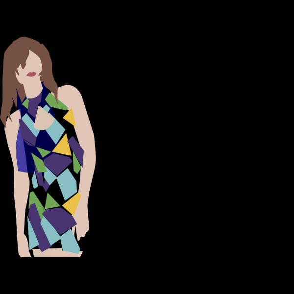 Pale Blue Dress PNG icons