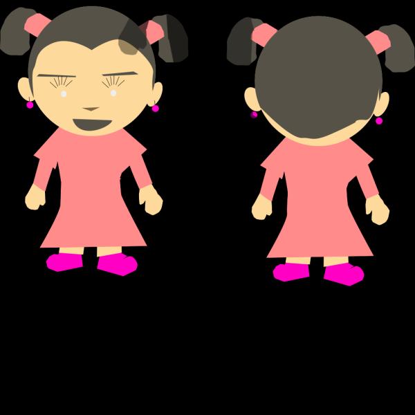 Little Kid Girl Cartoon PNG Clip art