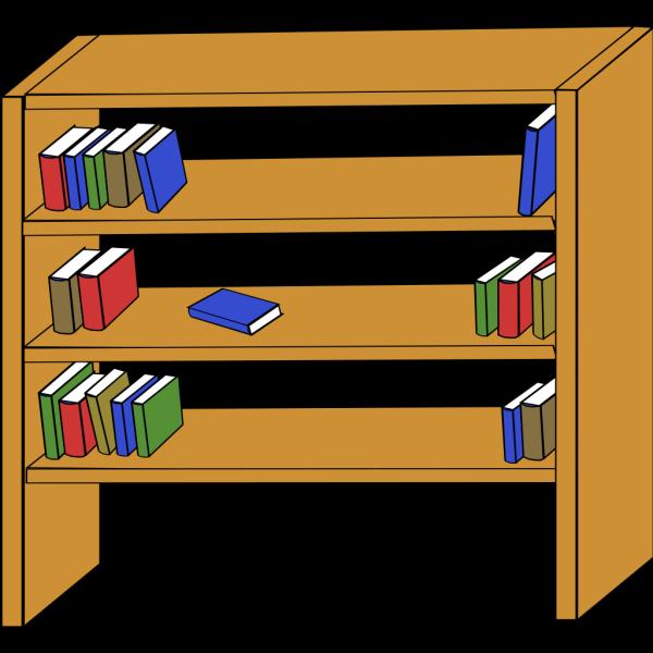 Bookshelf PNG Clip art