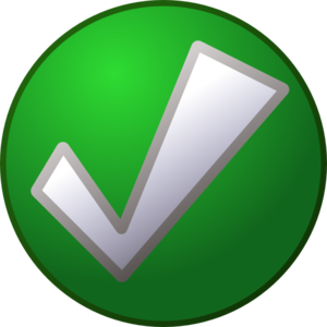 Checkmark On Circle PNG Clip art