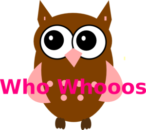 Pink Owl On Branch PNG Clip art