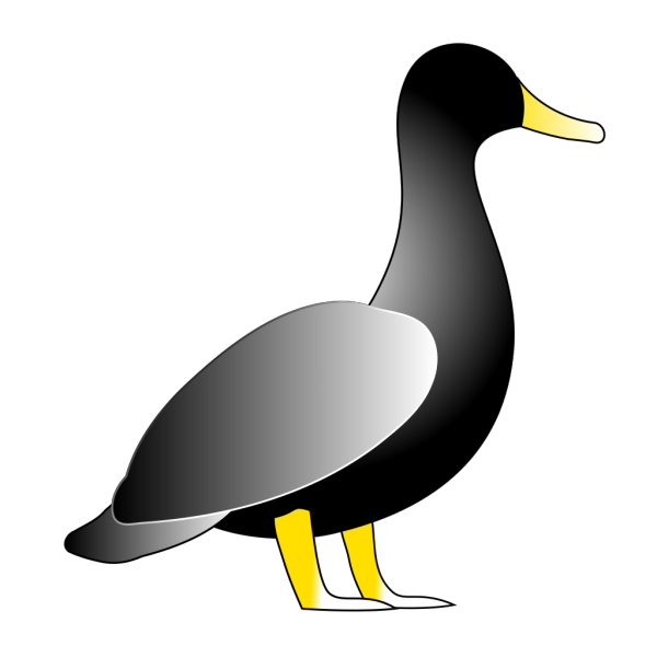 Blank Duck PNG Clip art