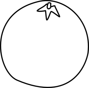 Orange Bird Right PNG Clip art