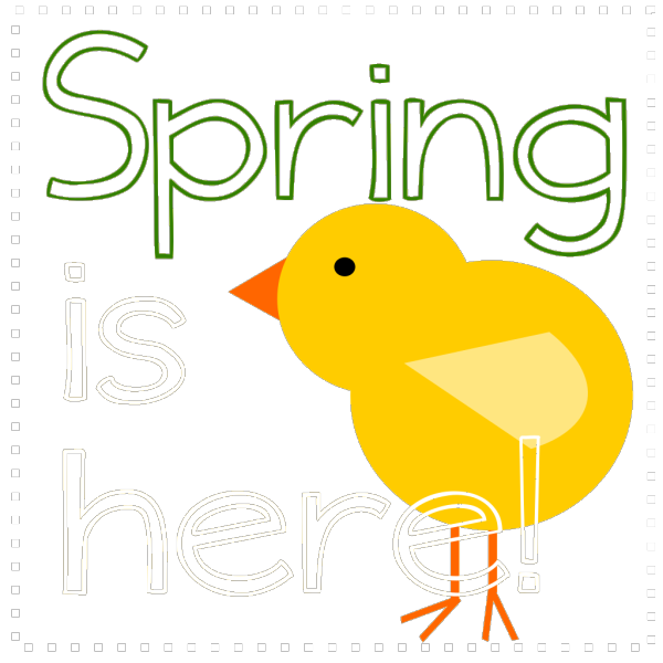 Spring Is Here PNG images