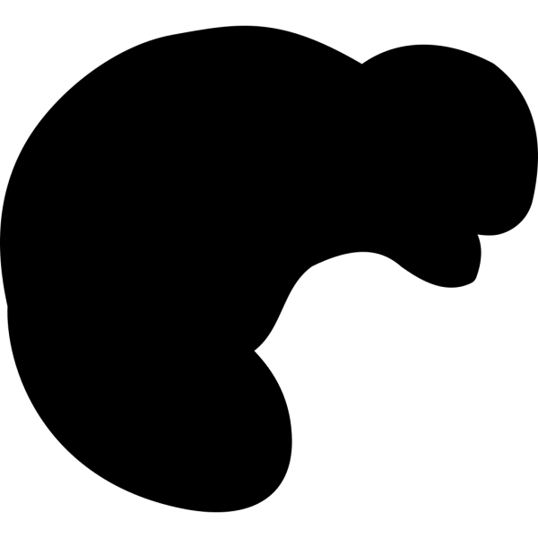 Beaver Silhouette PNG Clip art