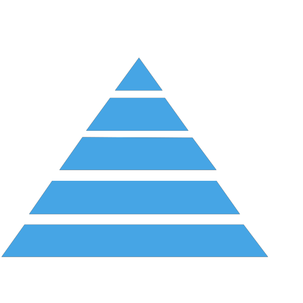 Pyramid Dark Blue