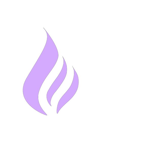Blue Flame Simple Purple PNG Clip art