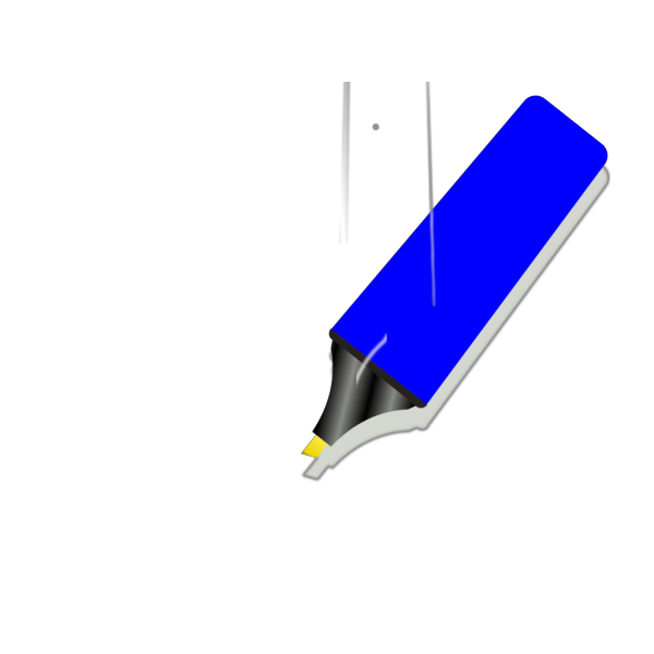 Blue Marker PNG Clip art