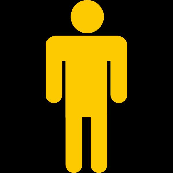 Blue Stick Man PNG Clip art