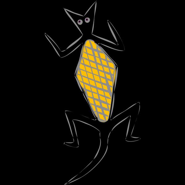 Abstract Lizard PNG Clip art