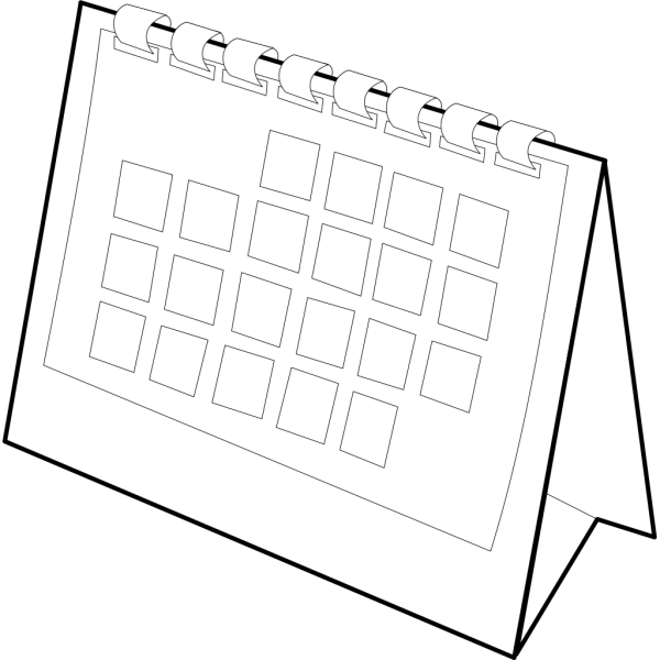 Calendar PNG icons