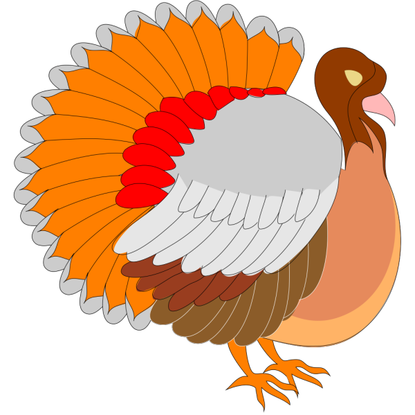 Turkey Side View PNG Clip art