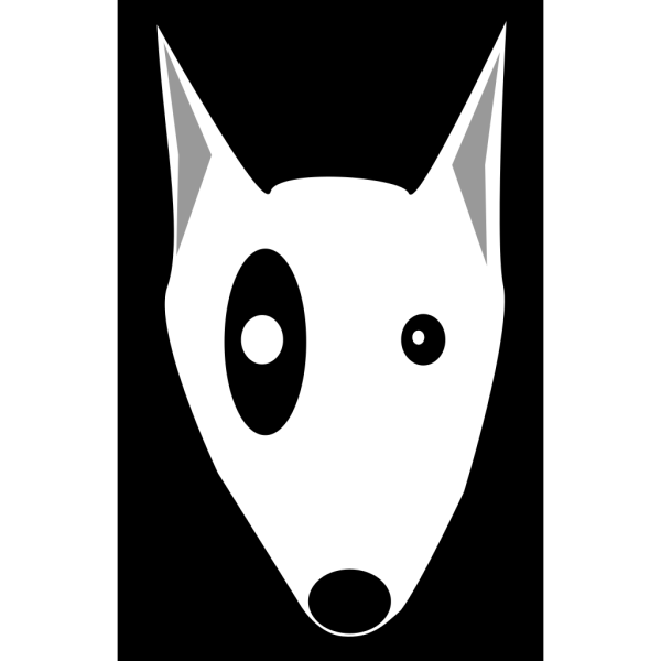 Bullterrier Head 4 PNG images