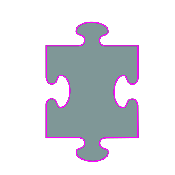 Single Jigsaw Piece PNG images