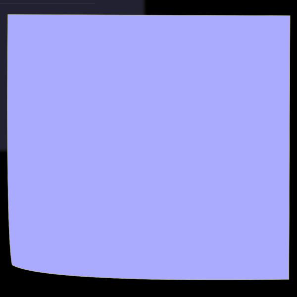 Light Blue Sticky PNG Clip art