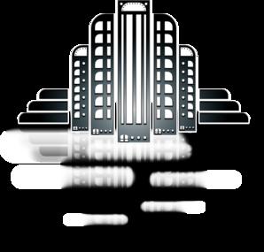 City Art Deco PNG Clip art