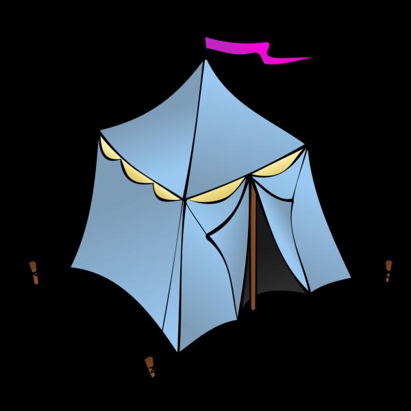 Tents In The Desert PNG Clip art