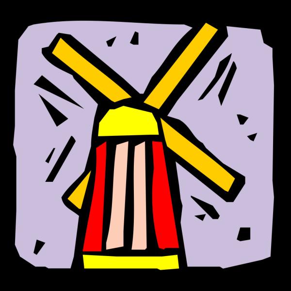 Windmill PNG Clip art