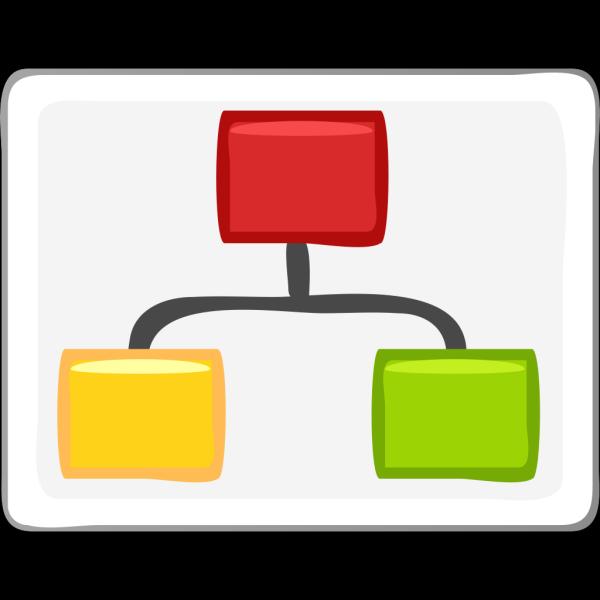 Block Diagram Visio Hierarchy Clip Art PNG images