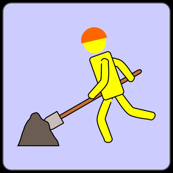 Road Work Clip PNG Clip art